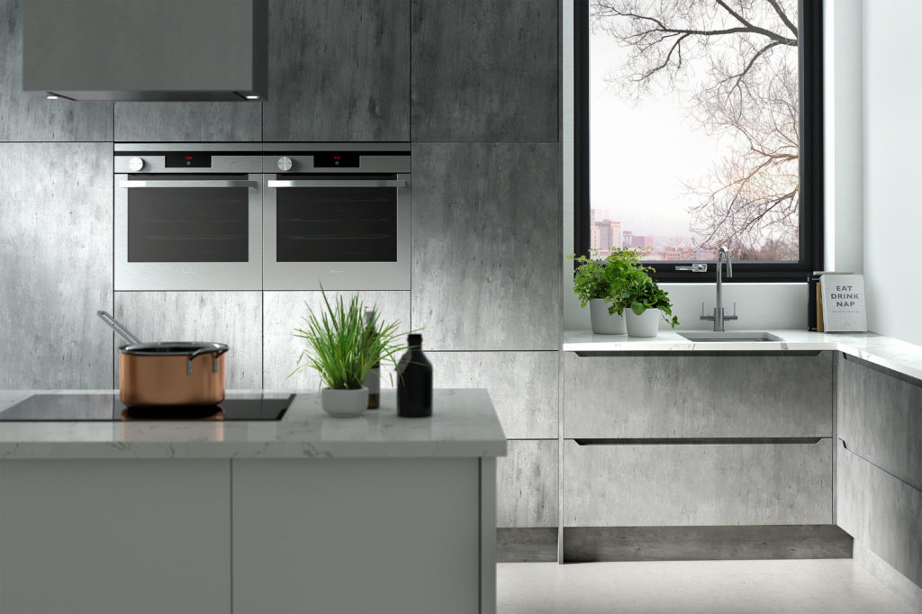Style: Create ???????  |  Thickness: ??mm  |  Colour: Concrete  |  Handle Style: Int ???
